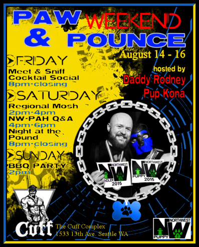 Paw and Pounce Poster